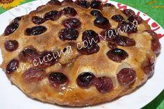 in cucina con vanna: Schiacciata all'uva di Benedetta Parodi