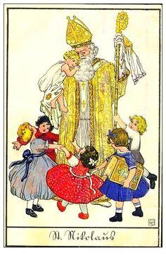 Carte illustrée : Sankt Nikolaus