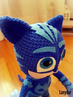 Catboy crochet by Lavydor