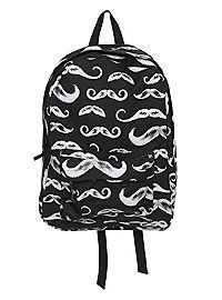 HOTTOPIC.COM - Black Mustache Backpack