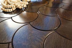 Lotus Wood Floor by Jamie Beckwith