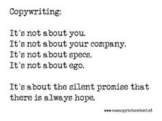 #Copywriting