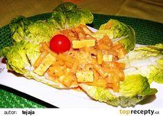 Tofu na smetaně s fazolkami recept - TopRecepty.cz