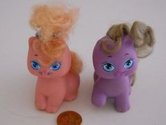 Vtg Hasbro Pretty Kitty Playful My Little Pony PAL Cherry Blossom Purple Lila | eBay