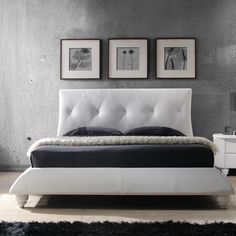 Bellagio Upholstered Sleigh Bed