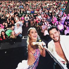 Emma and Val,DWTS Live Tour 2015