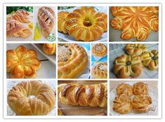 Készíts szép, formázott kelt tésztás süteményeket! Eclair Recipe, Bread Shaping, Food Carving, Sweet Pastries, Food Decoration, Appetizers For Party, Food Art, Bread Recipes, Bakery