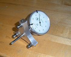 Spherical Radius Measurement Indicator