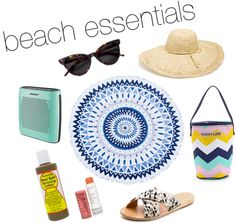 All of the beach essentials you'll need to pack for your beach trip. | Just Peachy Blog