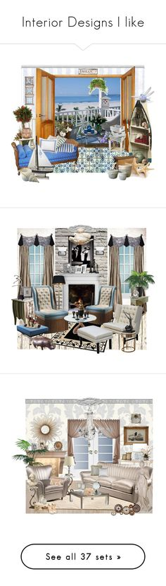 """""""Interior Designs I like"""" by chauert ❤ liked on Polyvore featuring interior, interiors, interior design, home, home decor, interior decorating, PLANT, Distinctive Designs, PATH and Lake"""