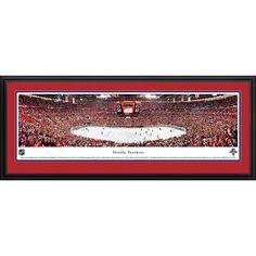 Worldwide Blakeway Panoramas Florida Panthers Framed NHL Print
