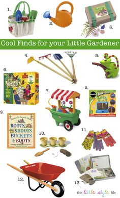 Little Gardener Activities from The Little Style File featuring the Stone Soup Planting Kit
