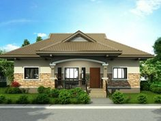Bungalow house plans in india with ranch craftsman style house plans with contem.Bungalow house plans in india with ranch craftsman style house plans with contemporary house doors and craftsman also craftsman house plans with angled Modern Bungalow House Design, Simple House Design, Home Design, Bungalow Designs, Modern Houses, Design Ideas, One Storey House, Single Storey House Plans, Bungalows