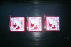 Hello+Kitty+Sizzix | Hello Kitty Post-it Note Booklets