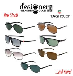 New Tag Heuer sunglasses. Hurry before our stock runs out! #designer #eyewear #sunglasses #tagheuer