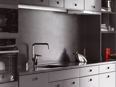 Lato tumma harmaa keittio iso2 Grey Kitchens, Haku, Sink, Dreams, Google, Home Decor, Sink Tops, Vessel Sink, Decoration Home