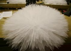 How professional practice tutus are made / SEE ALSO: