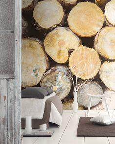 Detalle Colección So Wall 2 de @casadecomarque | En Innova | #PapelDePared #Textura #Naturaleza