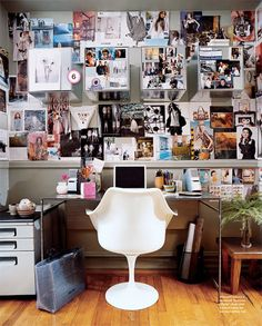 Is your office style calm and organized or chaotic and cluttered?