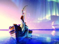 ImageFind images and videos about art, water and fantasy on We Heart It - the app to get lost in what you love. Wallpaper Moon, Photo Wallpaper, Enya Music, Art Visionnaire, The Blue Planet, Angeles, Visionary Art, Fantasy Landscape, Fantasy World