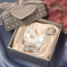 Get the beautiful crystal baby shower favors