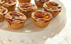 These individual tarts are easy to eat out of hand, yet elegant enough for a special brunch. Surprisingly simple to make, they're not just for Mother's Day, of course, but little hands can help make them for Mom…or with Mom.