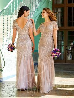 Couture Wedding Gowns, Bridal Gowns, Wedding Dresses, Blush Bridal, Flared Bridesmaid Dresses, Beaded Gown, Dress Silhouette, Adrianna Papell, Bridal Boutique