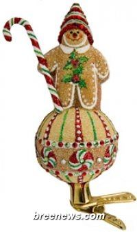 Gingerboy on Ball (Gingerbread) Patricia Breen