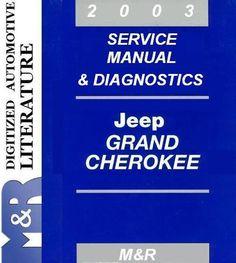jeep grand cherokee wj 2003 parts list catalog illustrated m