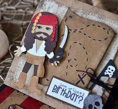 tarjeta cumple pirata