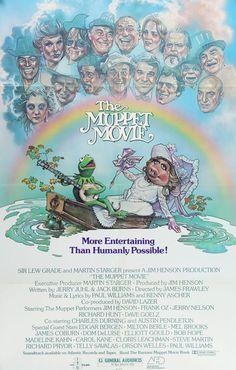 The Muppet Movie (1979) Original One-Sheet Movie Poster
