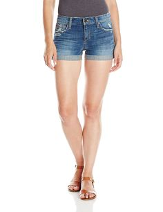 65c570c678 Joe's Jeans Women's Collector's Edition Rolled Short In Celeste  >>> This