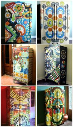 Armoires designed by Lucas Rise for Sans Parapluie.