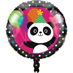 Panda-Monium This Panda-Monium Party Supplies Pack is adorable! Bring a colorful touch to your child's panda theme birthday party with our party bundle. Panda Party, Panda Birthday Party, Bear Birthday, Birthday Parties, Birthday Celebration, Bear Party, 9th Birthday, Happy Birthday, Metallic Balloons