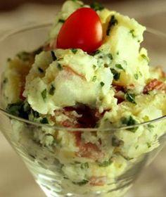 Light and Creamy Potato Salad- no mayo
