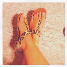 Leopard sandals from Target, thanks @Janel Sanchez :)