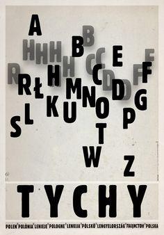 Ryszard Kaja, Tychy, Polish Promotion Poster