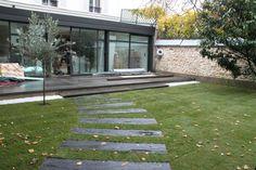 Aménagement d'un jardin à Paris