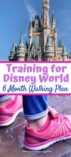 Training for Disney World & 6 Month Walking Plan