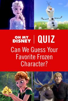 Quiz: Can We Guess Your Favorite Frozen Character? Oh my gosh! They got it right!