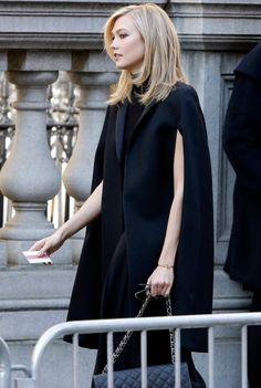 November 3, 2014 - Model for Oscar de la Renta designs, Karlie Kloss atends memorial service for Fashion Designer, Oscar de la Renta in New York City.