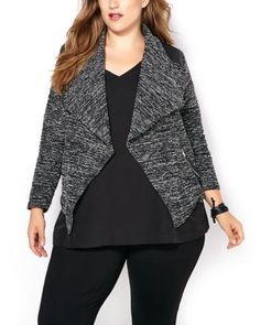 Long Sleeve Cascade Jacket