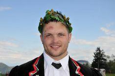 Matthias Siegenthaler gewann am 18. Mai zum zweiten Mal nach 2010 das Bern-Jurassische Schwingfest. (Foto: Andreas Mathys). Andreas, Bern, Mai