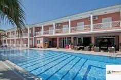 Angelina Hotel & Apartments, Sidari, Corfu, Grecia Hotel Apartment, Apartments, Corfu Sidari, Creta, Hotel Spa, Resort Spa, Mansions, House Styles, Home Decor