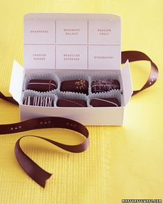 DIY Mapped-Out Chocolate Treats