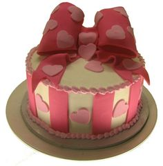 Cute Valentine's Day Cake