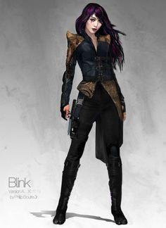X-Men: Days of Future Past Costume Concept Art by Phillip Boutte Jr.