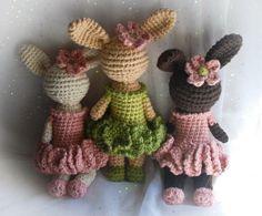 bunny pattern | ABERDEEN Bunny Crochet Pattern