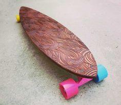 The Swirl Longboard
