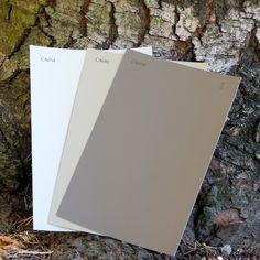 Cloverdale Paint Saddlery (CA-078), Cloverdale Paint Soapstone (CA-034), Cloverdale Paint Essential Beige (CA81)
